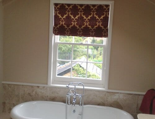 Bathroom Roman Blind