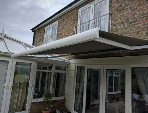 Awning – extended
